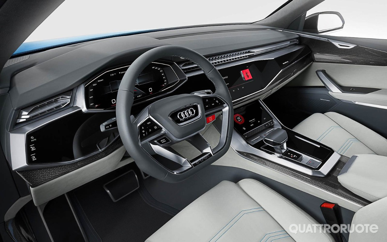 2019 Audi Q8 First Look Audis New Flagship  Motor Trend