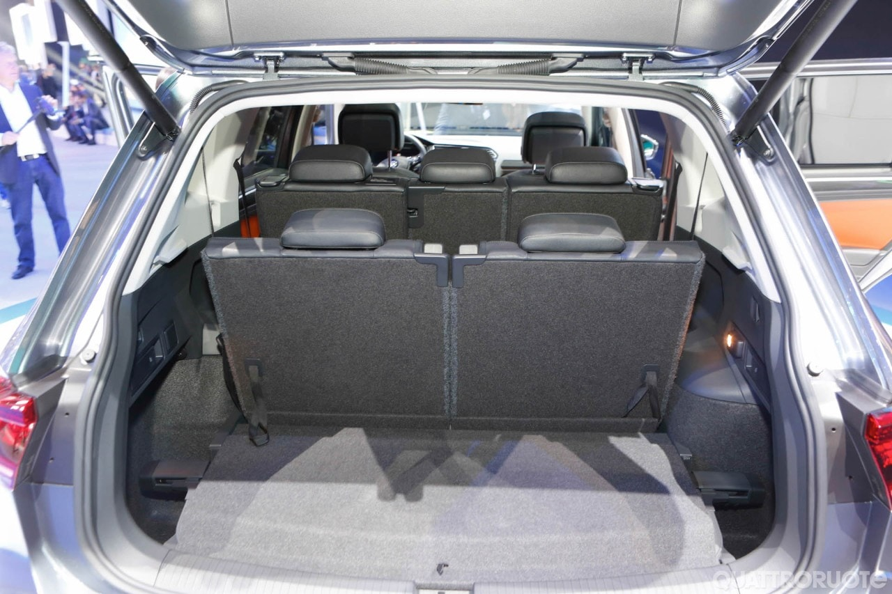 volkswagen tiguan allspace 2017 foto live foto e immagini esclusive. Black Bedroom Furniture Sets. Home Design Ideas