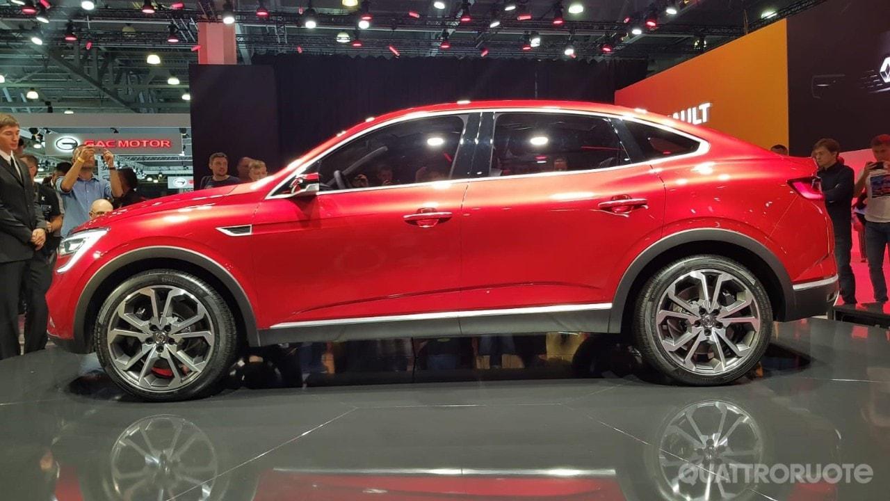 Renault Arkana Concept (2018) - Foto e Immagini Esclusive ...
