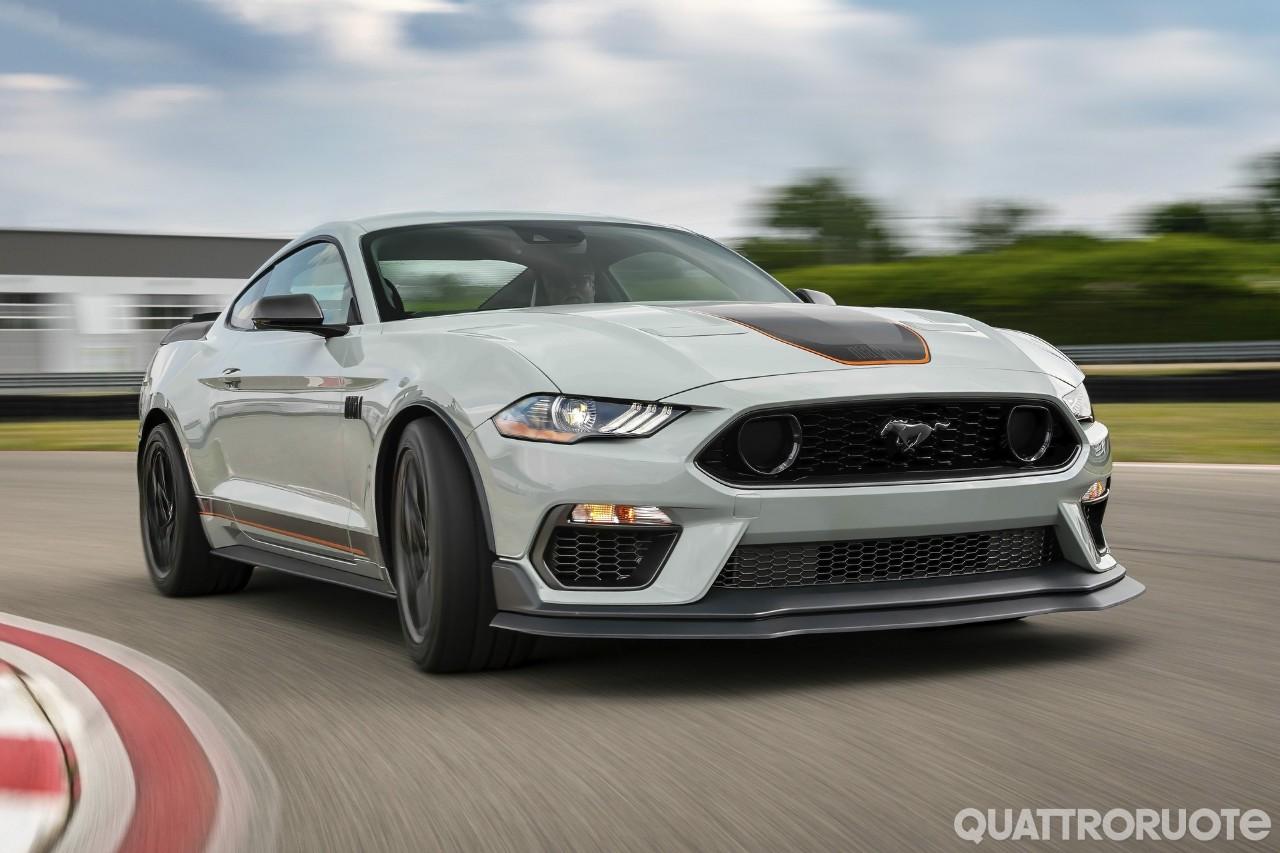 Ford Mustang Mach 1 (2020) - Foto e Immagini Esclusive - Quattroruote.it