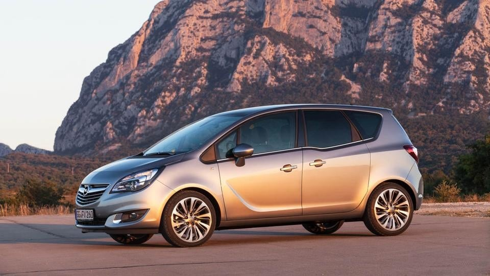 Opel Meriva restyling (2013)