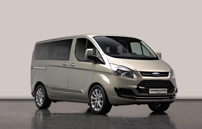 Ford Tourneo Custom Concept Van Otto Posti Solo Per L Europa