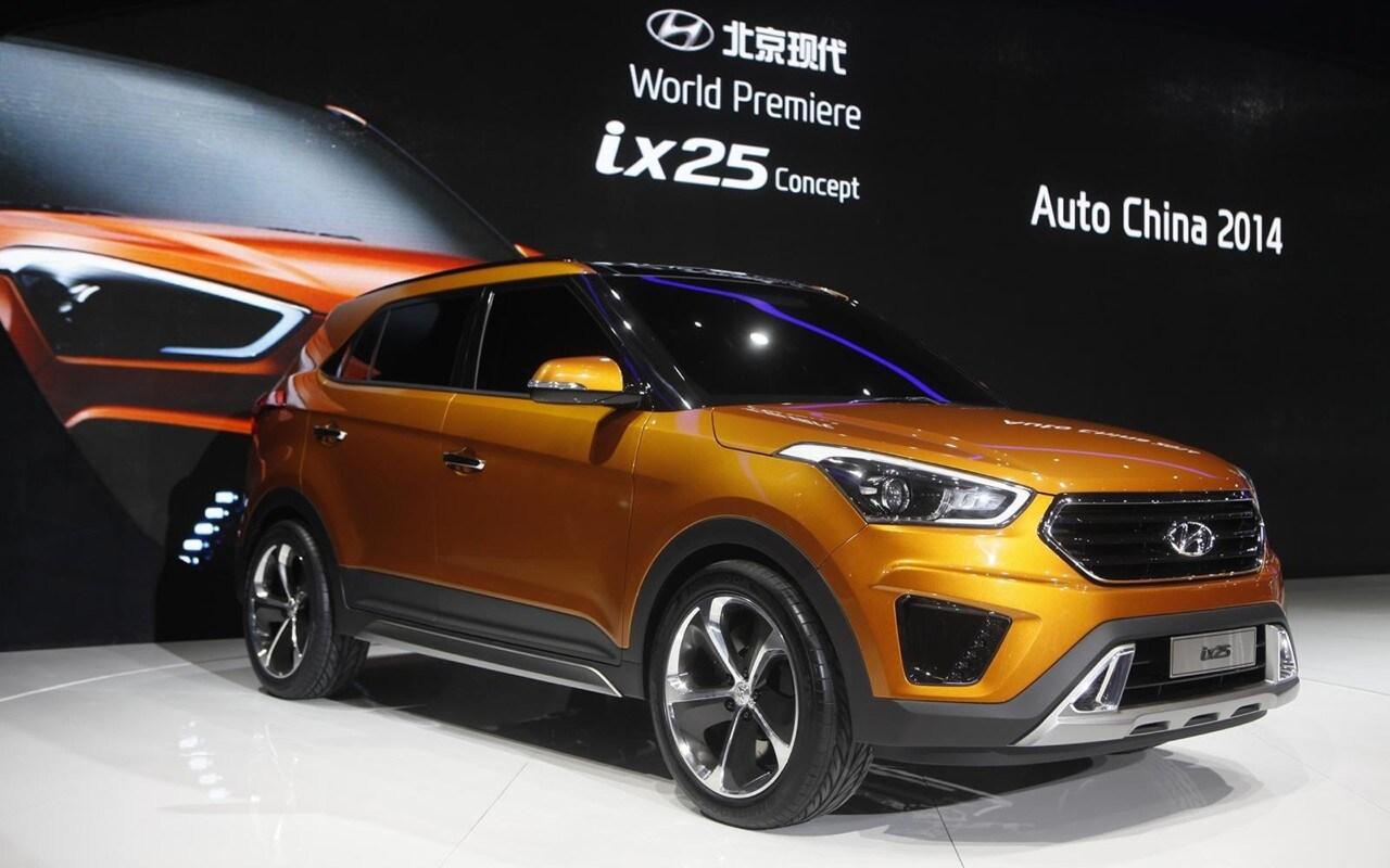 Hyundai ix25 concept un inedita crossover compatta per il salone di pechino quattroruote it