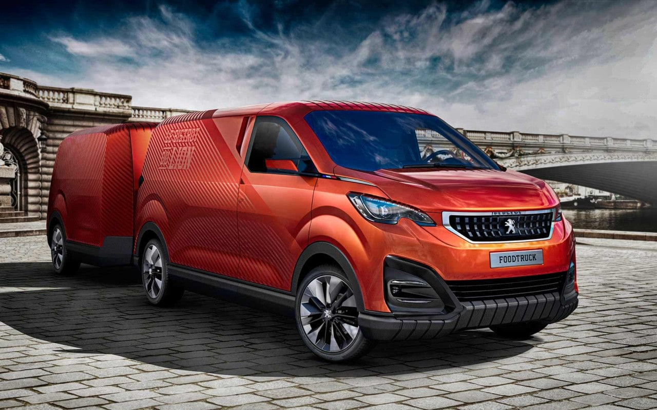 Peugeot foodtruck un bistrot a sei ruote per la for Settimana design milano