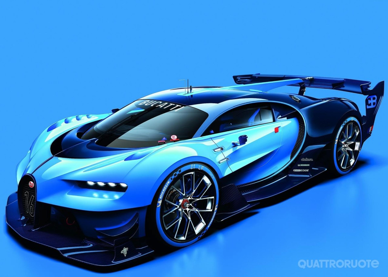 bugatti vision gran turismo concept l 39 hypercar che prefigura l 39 erede della veyron. Black Bedroom Furniture Sets. Home Design Ideas