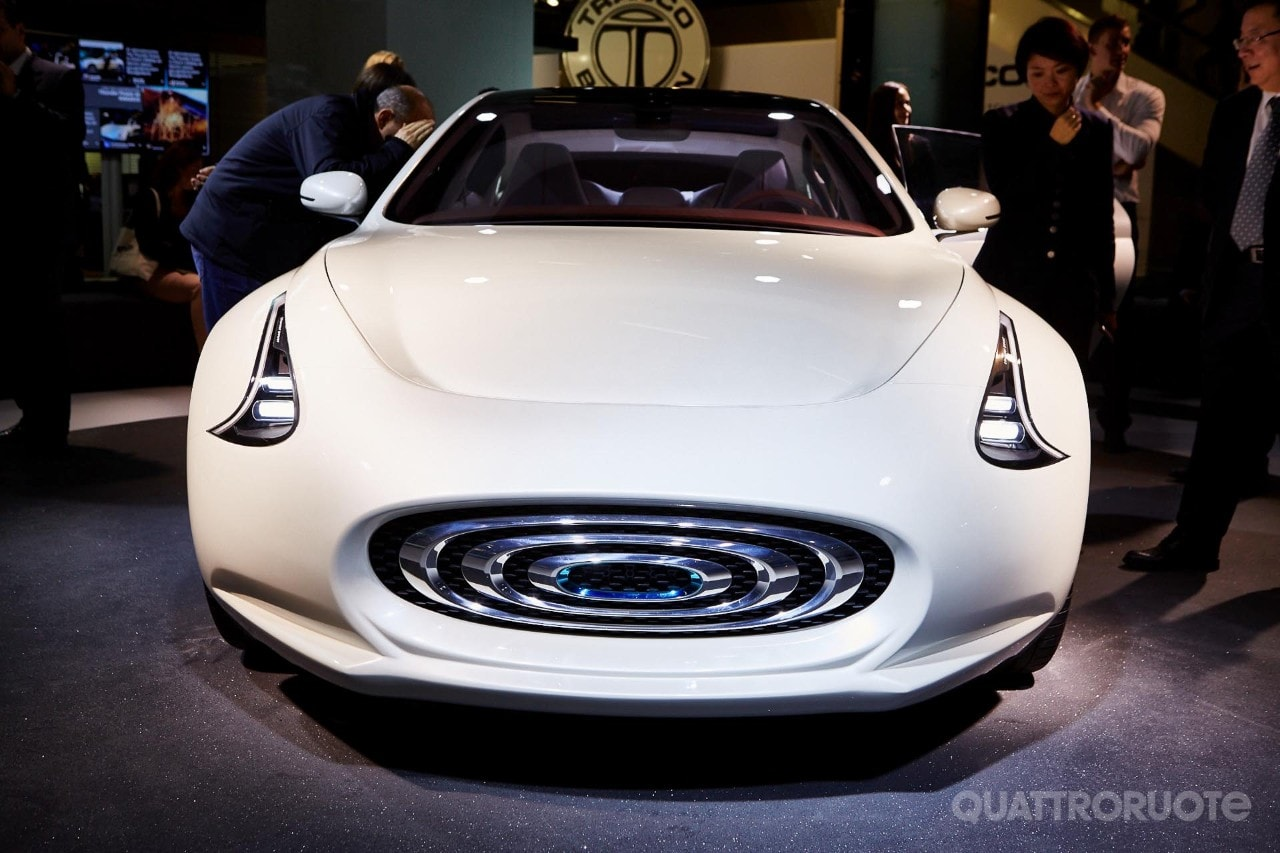 Thunder Power Sedan - La Tesla cinese col design italiano