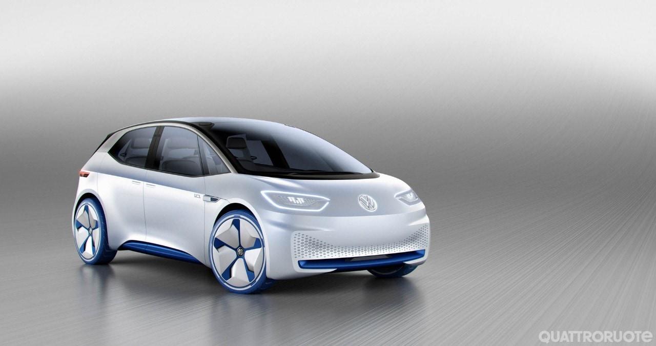 Volkswagen I.D.Anticipa un'elettrica di nuova generazione
