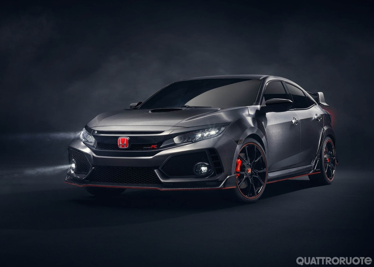Honda Civic Type RAnticipa la futura variante sportiva