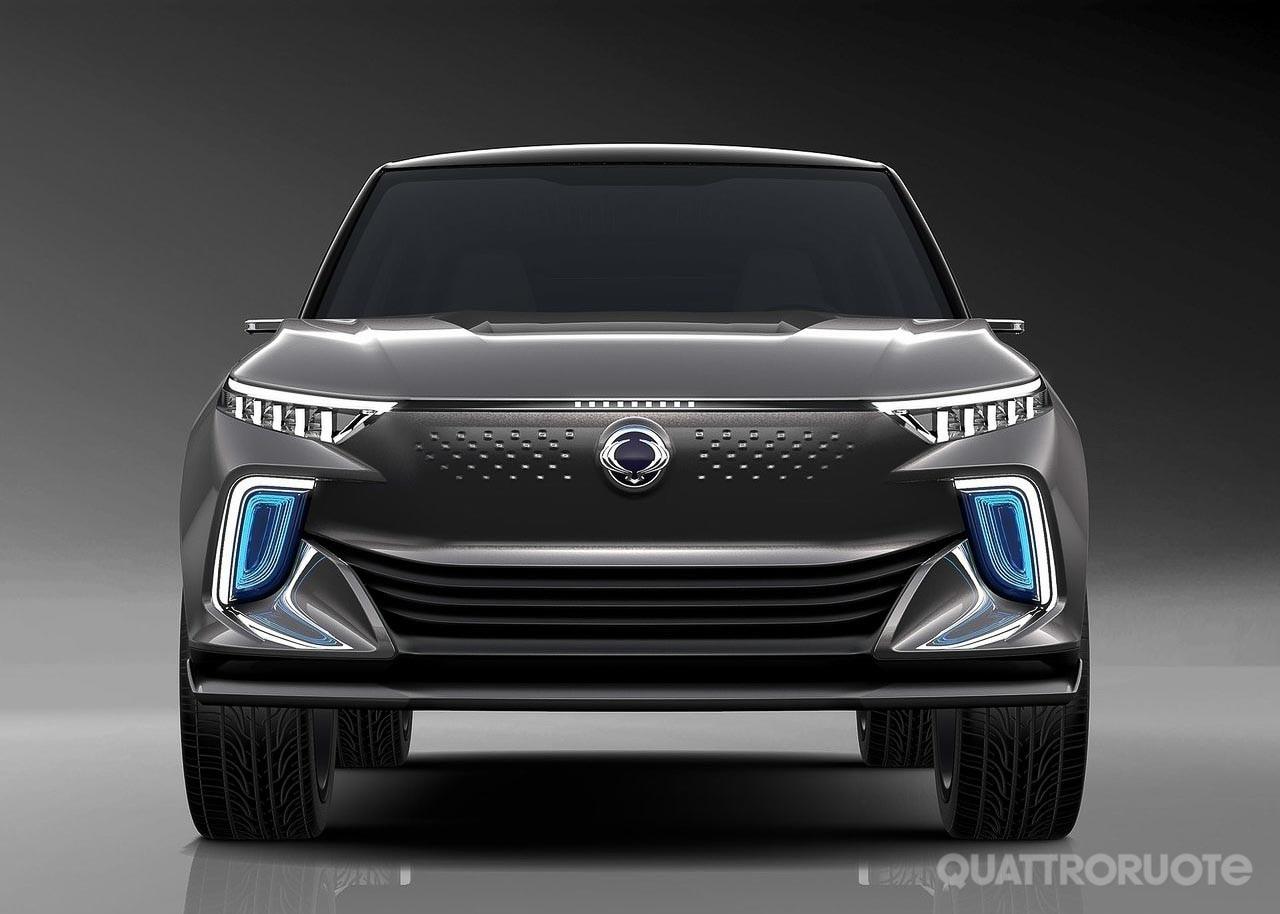 SsangYong e-Siv Concept - Elettrica e autonoma, la ...