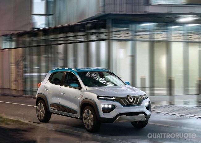 Schemi Elettrici Renault : Renault k ze concept lelettrica accessibile che partirà dalla