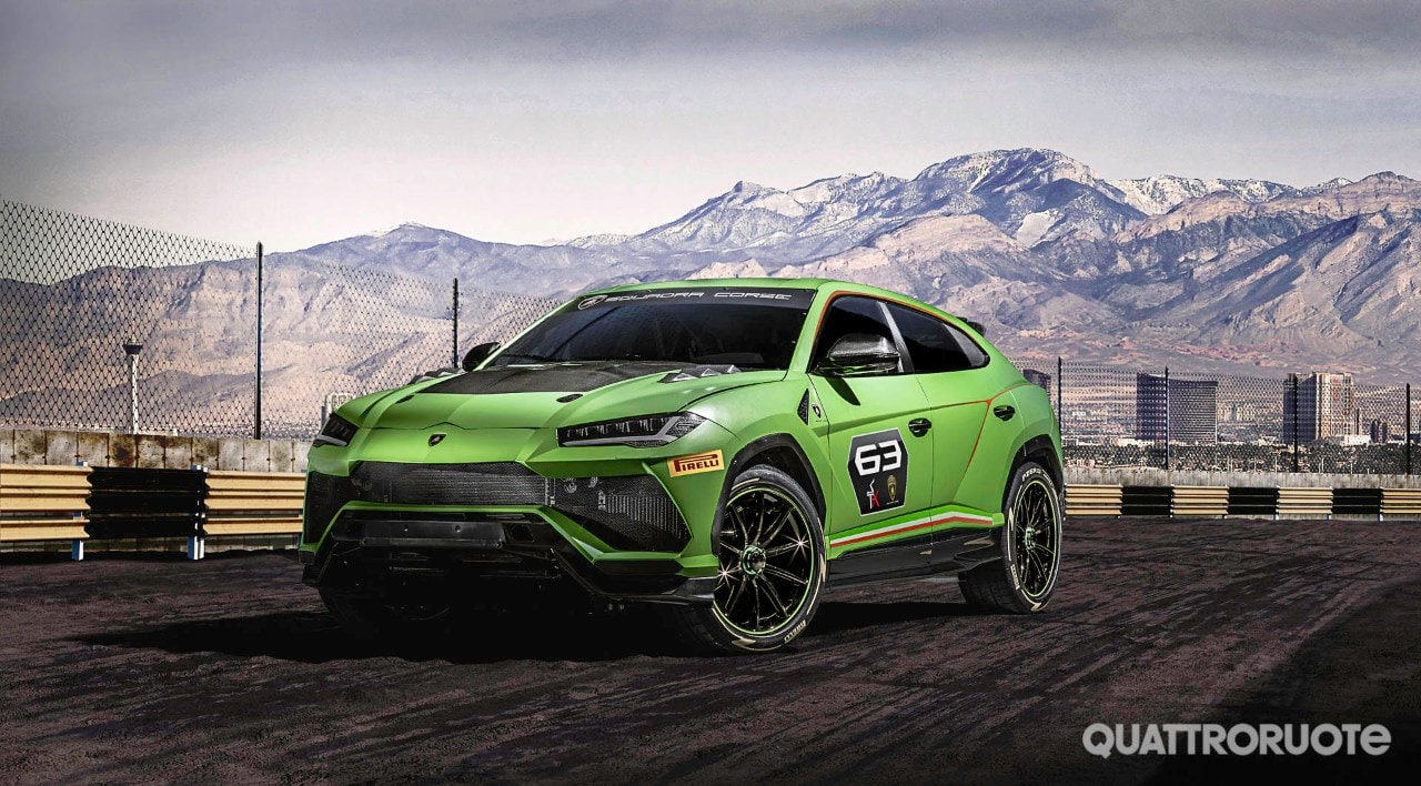 Lamborghini Urus St X Concept The Racing Version Of The Suv Di