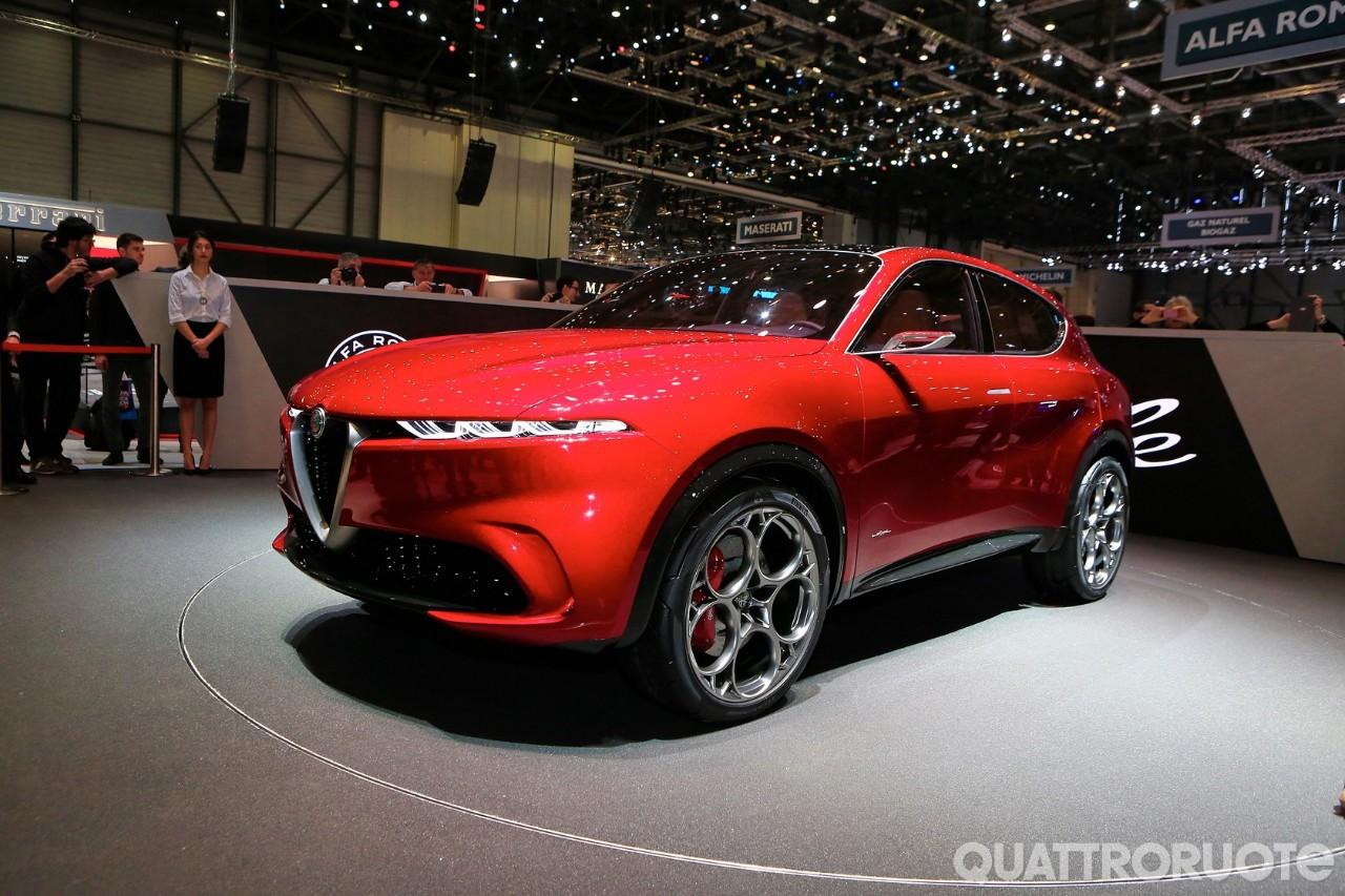 Alfa Romeo Tonale - La Suv compatta debutta a Ginevra ...