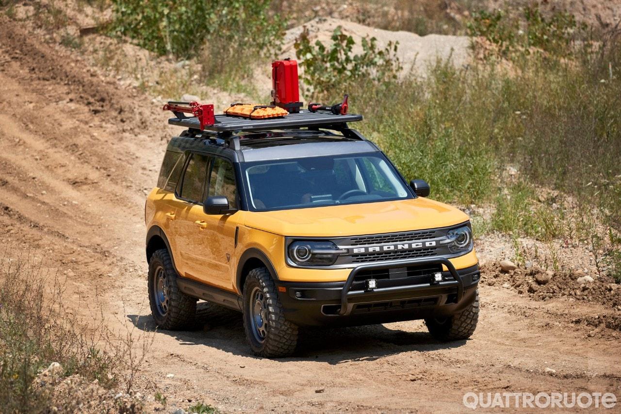 Ford Bronco - Cinque concept celebrano i 55 anni della fuoristrada