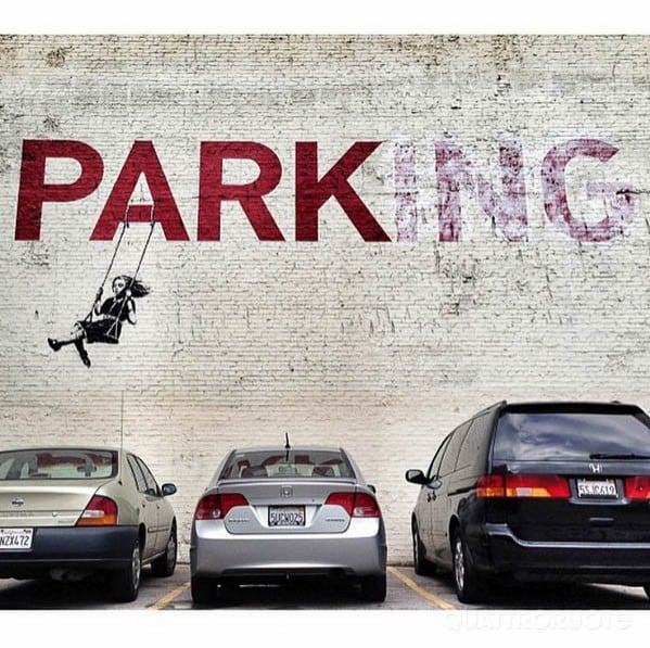 BanskyLa street art incontra le quattro ruote – GALLERY