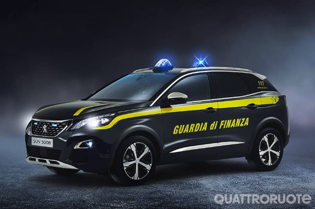 Peugeot Due 3008 Per La Guardia Di Finanza Quattroruote It