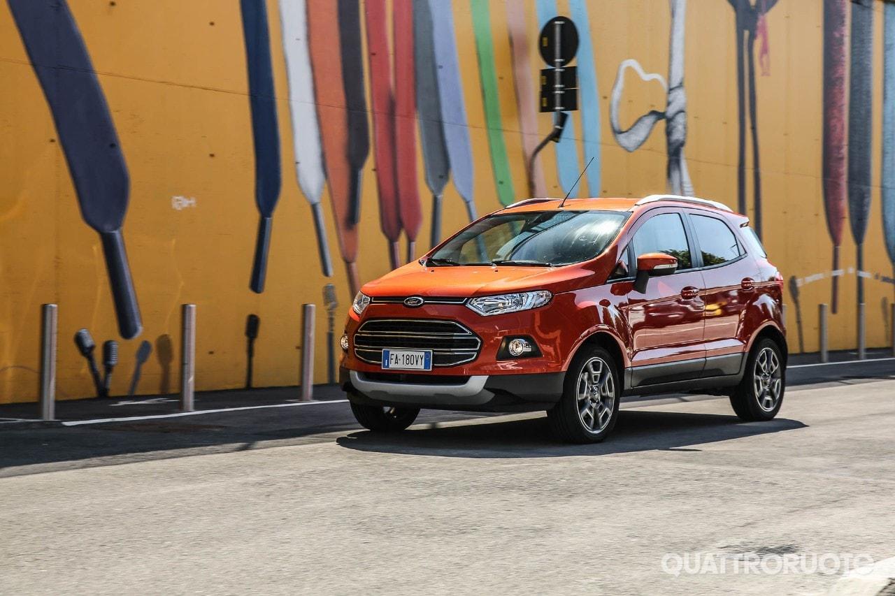Ford Ecosport Una Settimana Con La 1 0 Ecoboost 125 Cv Titanium