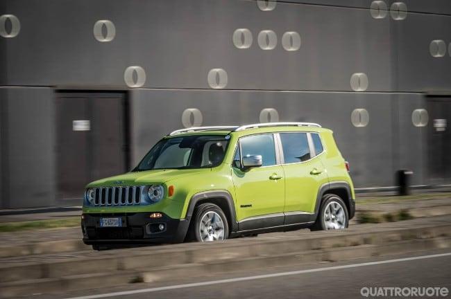 jeep renegade - una settimana con la limited 1.6 mjt da 120 cv ... - Bel Divano In Pelle Posteriore Con Sedili Imbottiti Armi