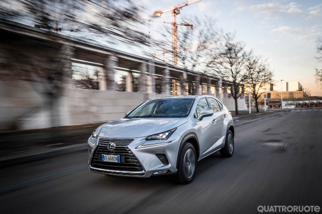 lexus nx - una settimana con la 2.5 hybrid 4wd luxury - video