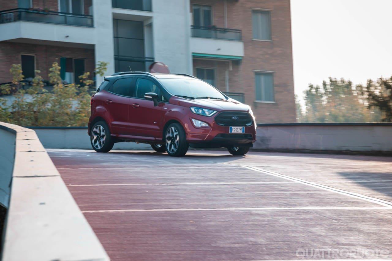 """SUV 4X4 pneumatico posteriore ruota di scorta Coperchio Si Adatta 16/"""" /& 17/"""" pollici si adatta a FORD ECOSPORT"""