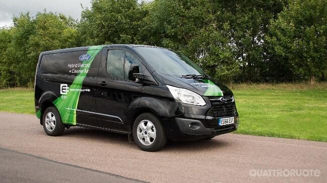 Ford Transit Custom La Versione Plug In Hybrid Arriva Sulle