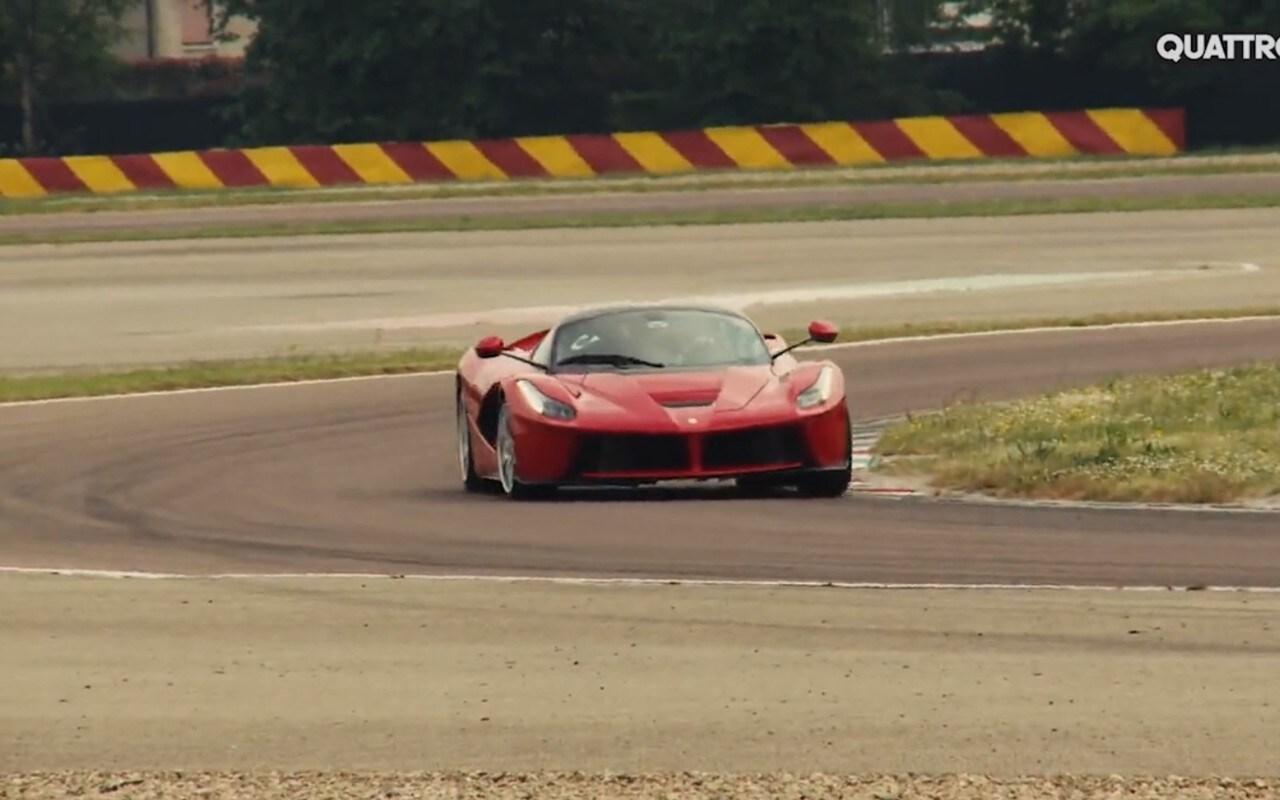 Dossier Sportive e Cabrio - In pista con la LaFerrari [video]