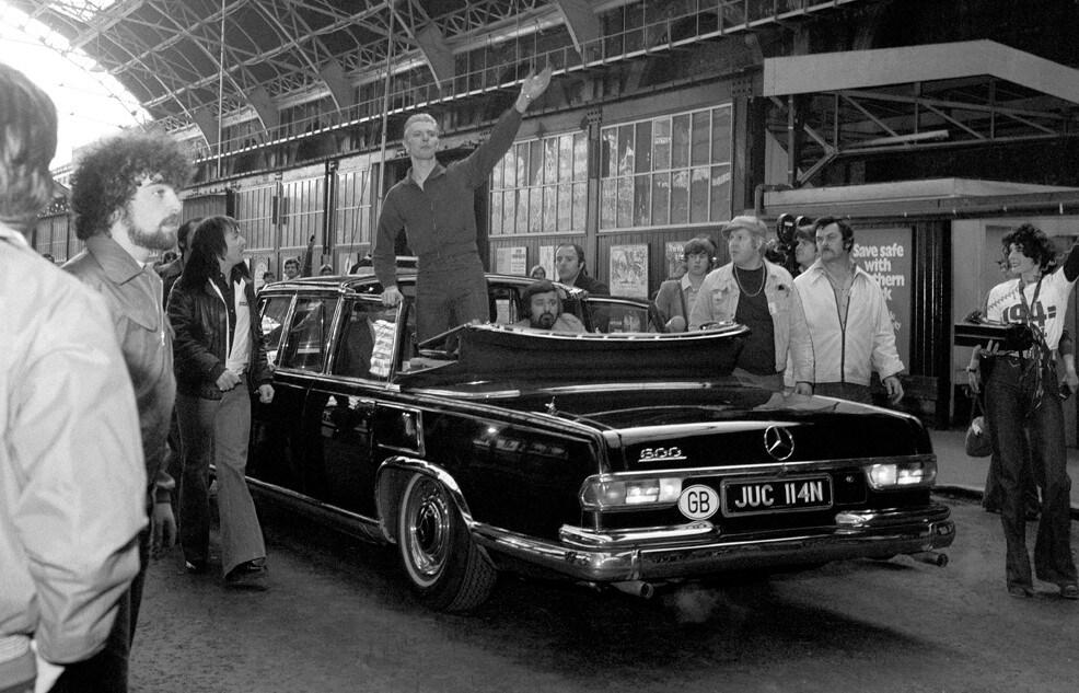 David Bowie - Il marziano che amava le Mercedes