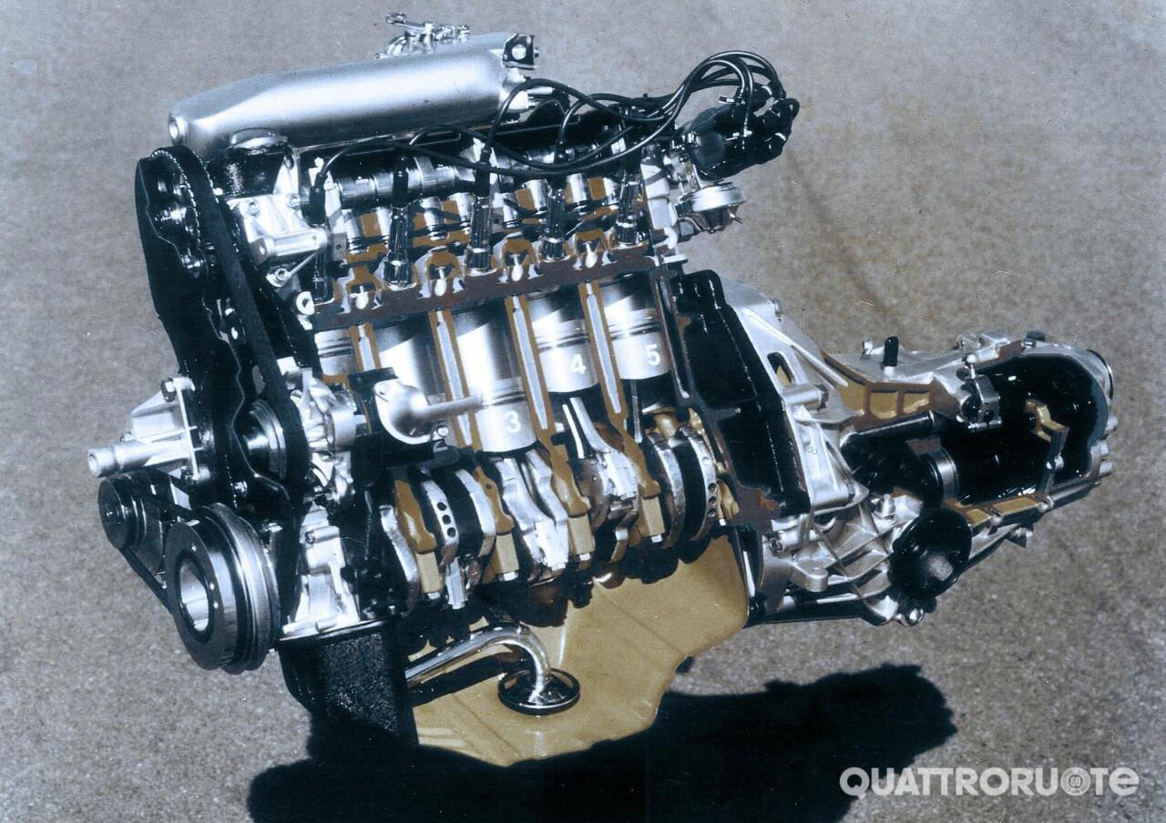 AudiIl 5 cilindri compie 40 anni