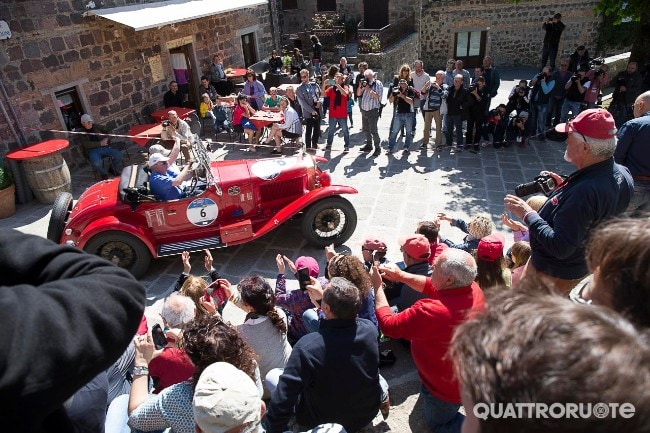 <strong>Mille Miglia</strong> - La Freccia Rossa compie 90 anni: svelato il tracciato
