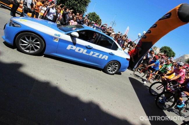 Polizia stradale e Giro d\'Italia - Premiati gli Eroi della sicurezza ...