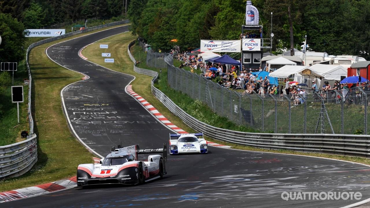 Porsche - Il 919 Tribute Tour si ferma al Nürburgring ...
