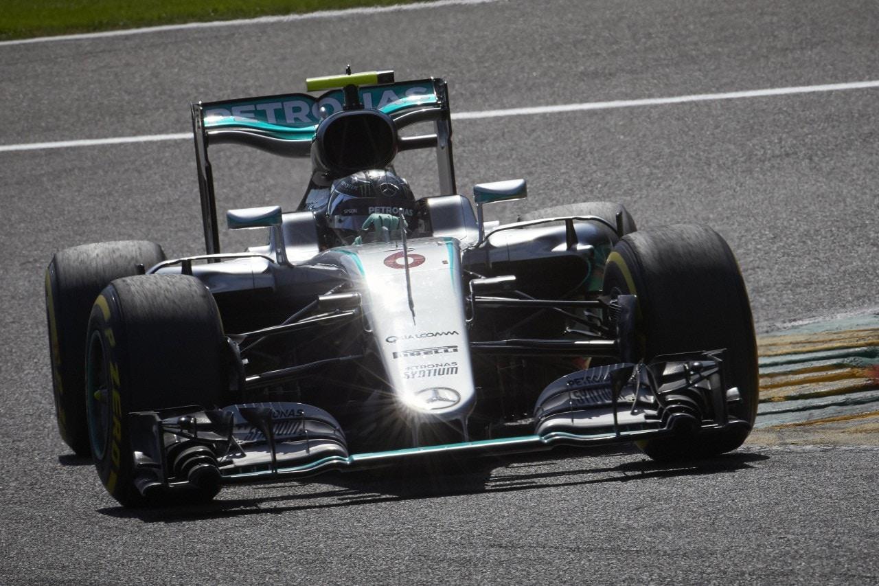 Gp d'Italia, Libere 1Mercedes vola. Rosberg il più veloce