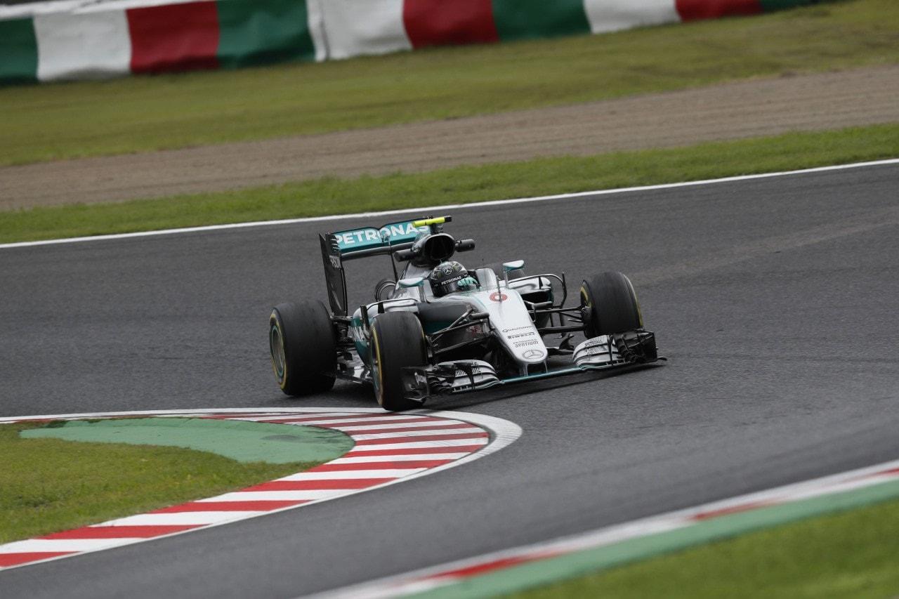 Gp del Giappone Rosberg in pole per soli 13 millesimi su Hamilton