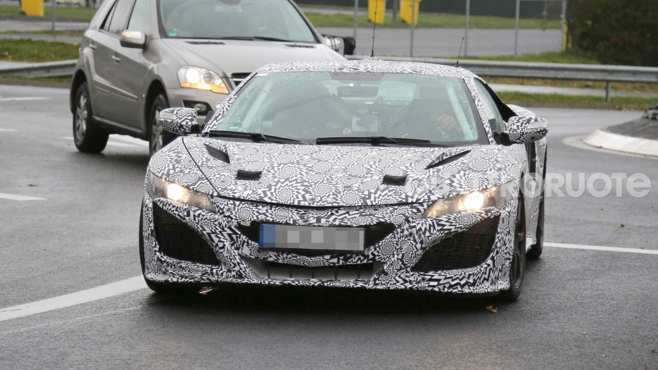 Honda NSX - Di nuovo su strada un prototipo della supercar ibrida