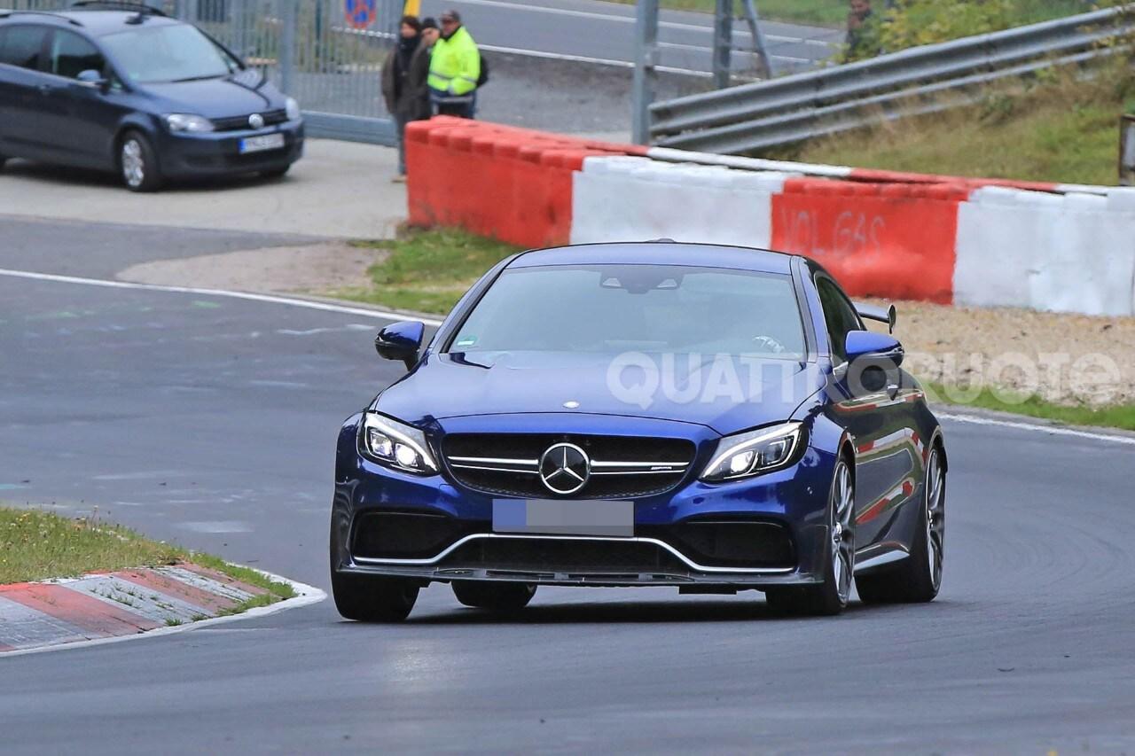 Mercedes-AMG C 63 CoupéTest al Ring per una nuova variante sportiva
