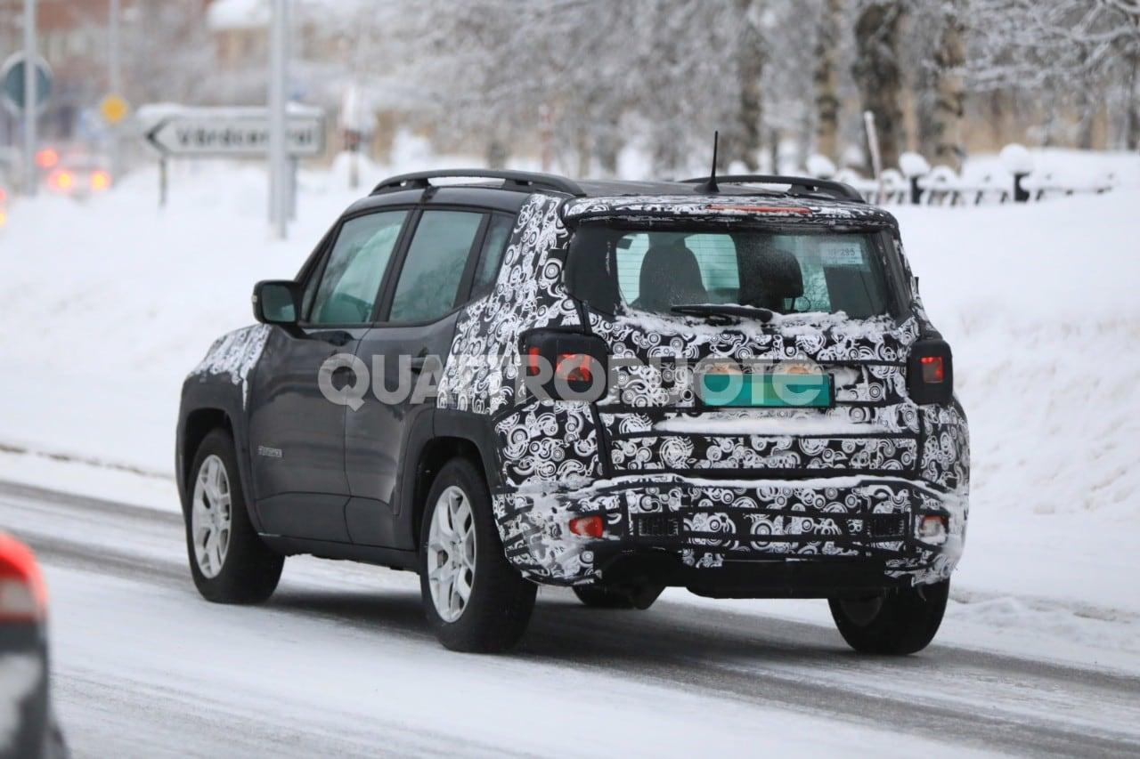 Jeep Renegade La Versione Facelift Avvistata Su Strada
