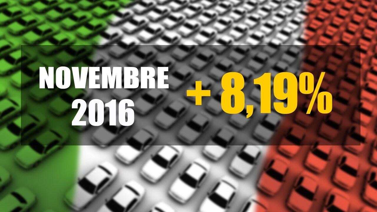 Mercato italianoImmatricolazioni ancora in crescita: +8,19%