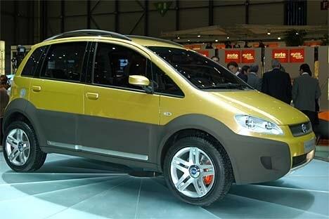 Fiat Idea 5terre Tuttospazio Integrale Quattroruote