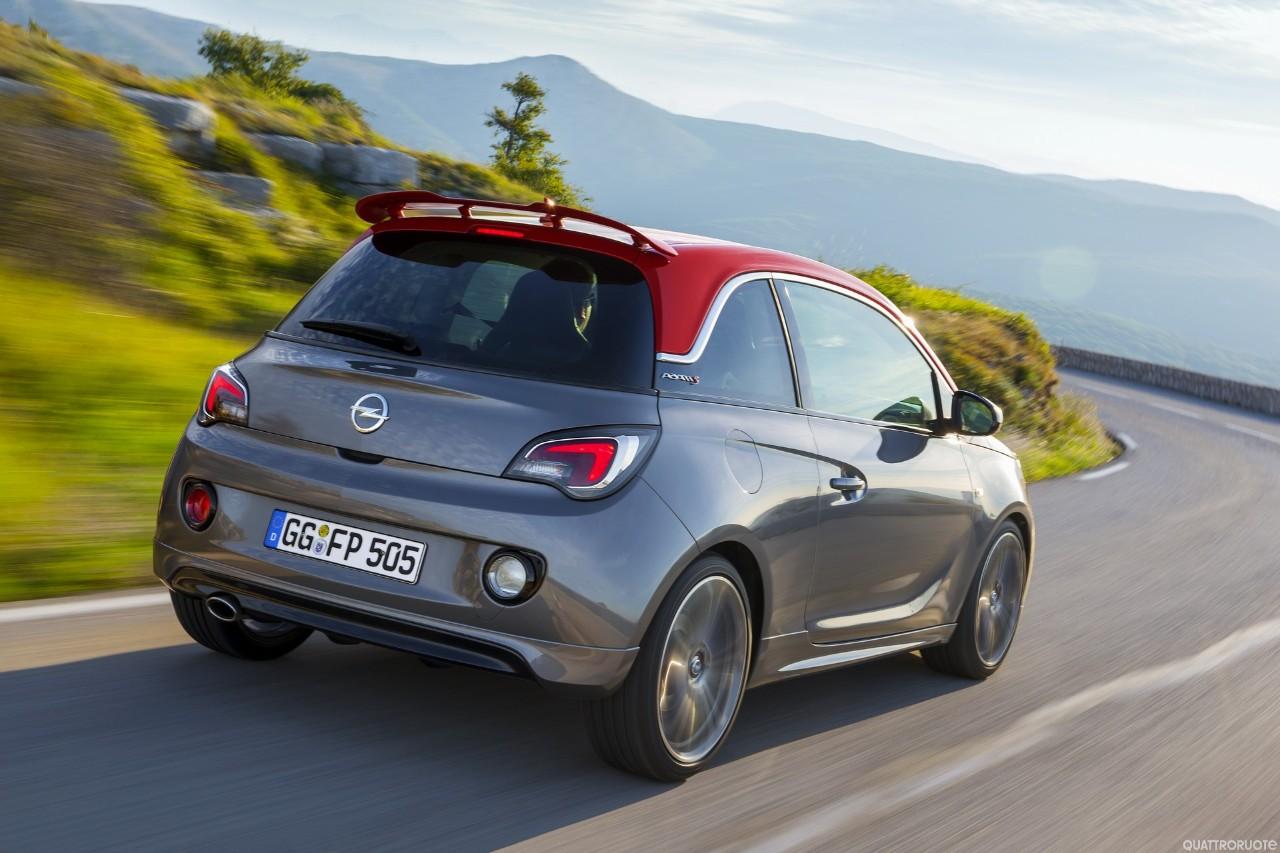 Opel adam s arriva a parigi 2014 la piccola sportiva quattroruote it