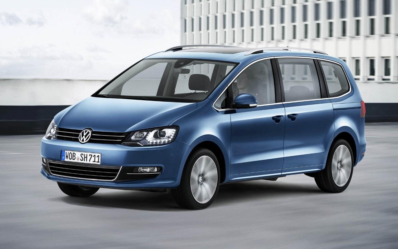 Volkswagen Sharan restyling - Motori aggiornati e nuovi sistemi di sicurezza