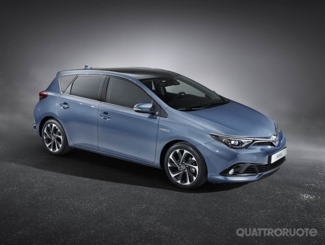 Toyota Auris Il Restyling Debutta Al Salone Di Ginevra