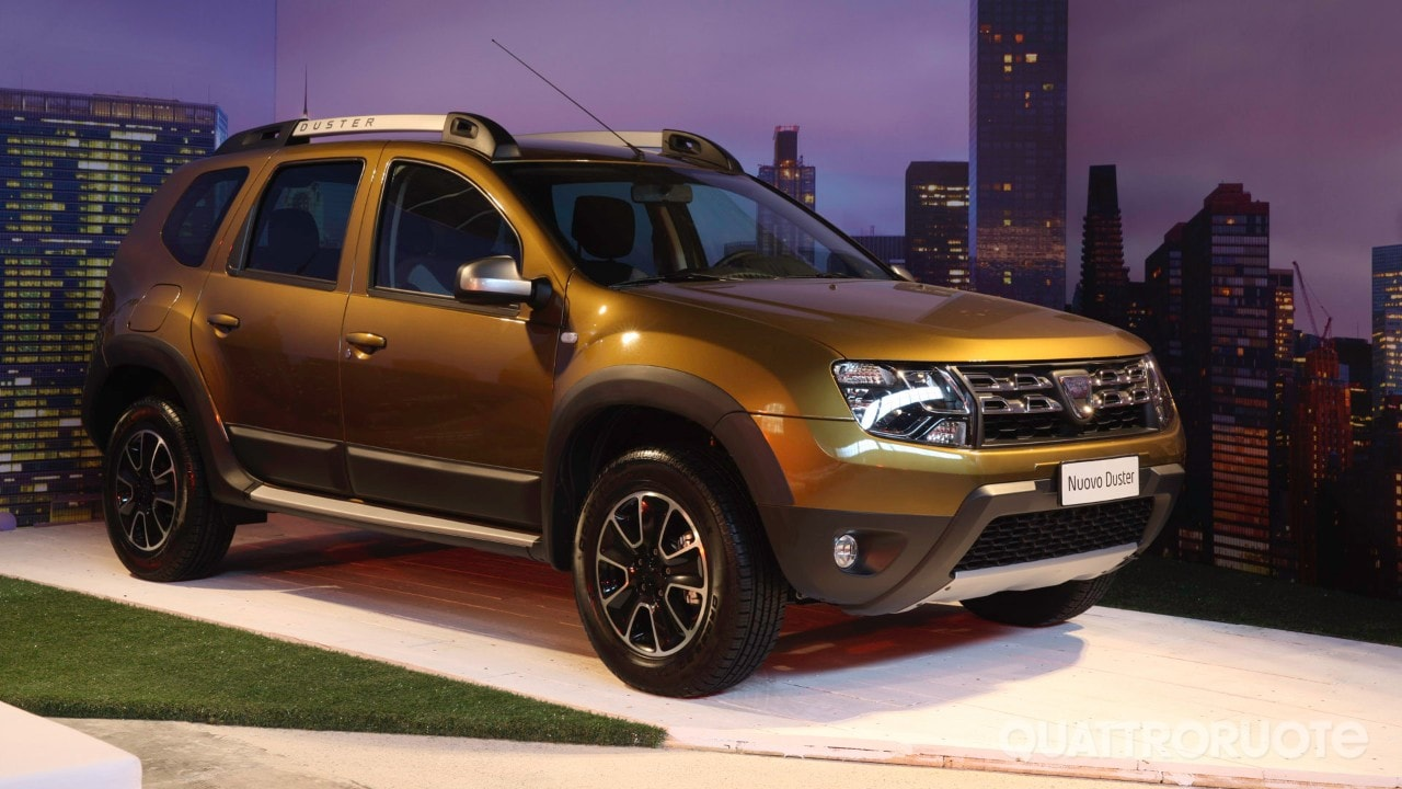 Dacia duster a listino il my 2016 e la urban explorer for Dacia duster listino
