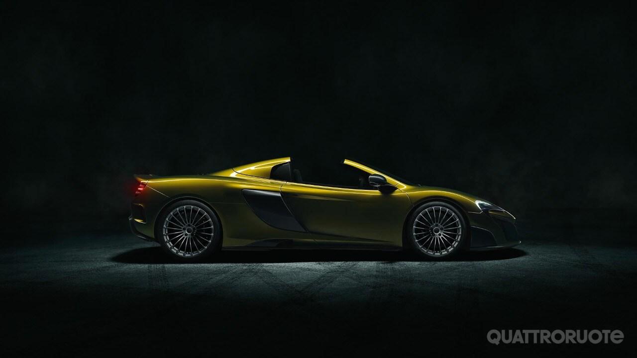McLaren 675LT Spider - Si scopre anche la Super Series più potente