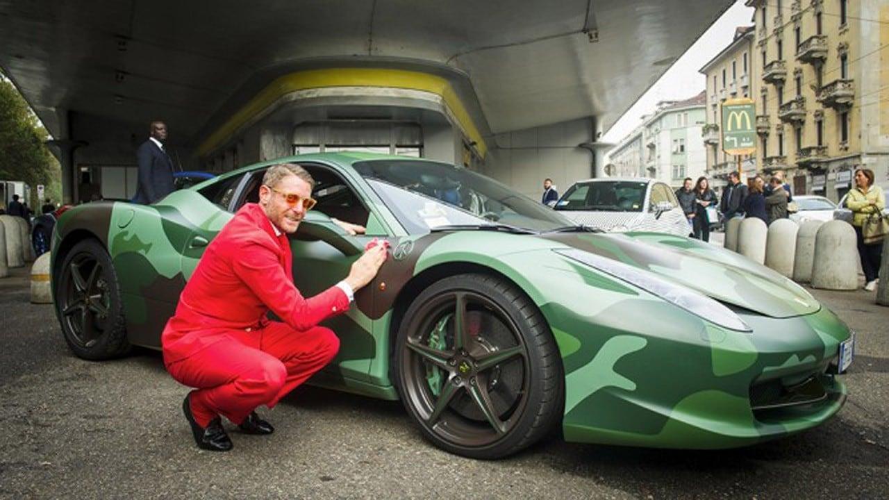 Ferrari 458 Camouflage - All'asta per un milione di euro la one-off di Lapo  - Quattroruote.it