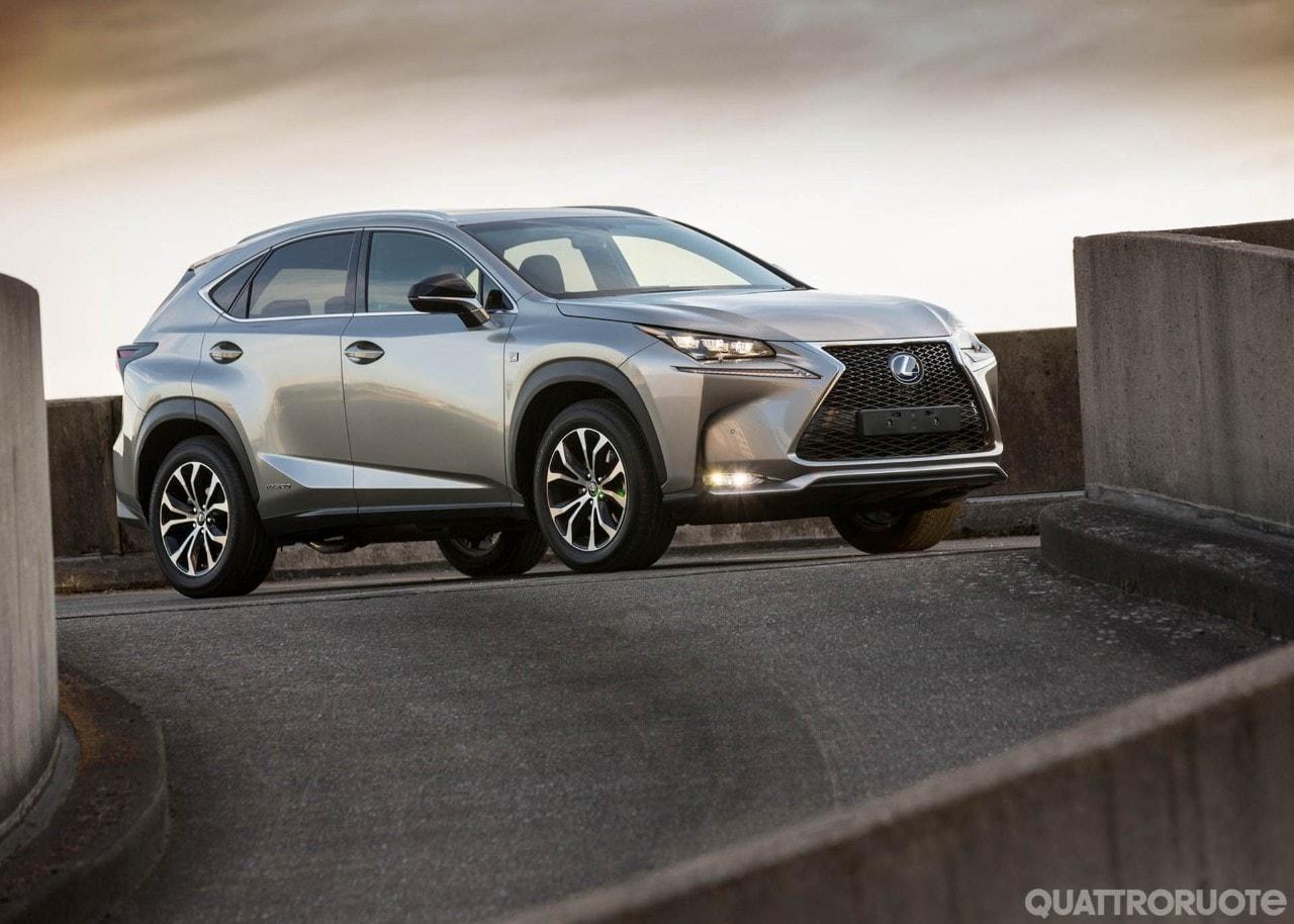 Lexus NXA listino il nuovo allestimento Icon