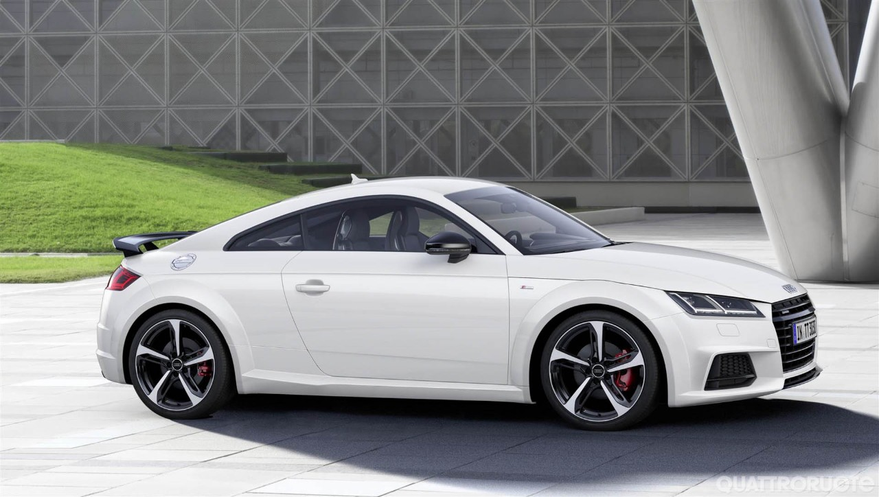 Audi TT - Dal 2017 anche in versione S Line Competition