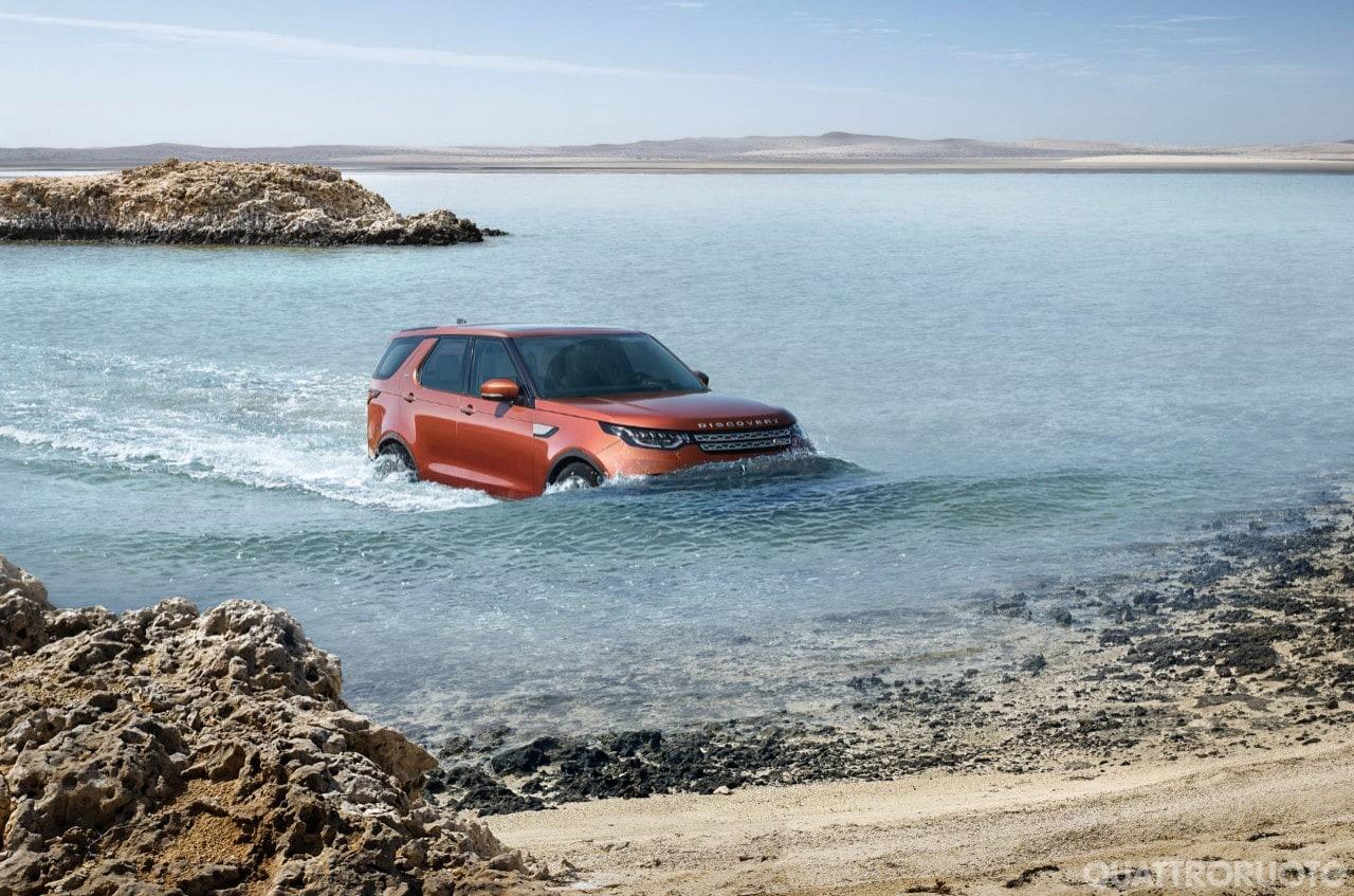 Land Rover DiscoveryFoto e informazioni sulla Suv britannica