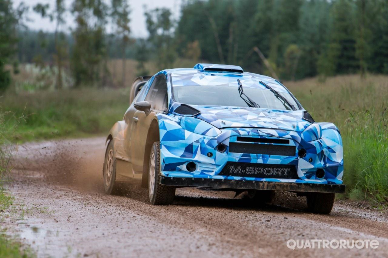FordLa nuova Fiesta debutta nei test del WRC 2017