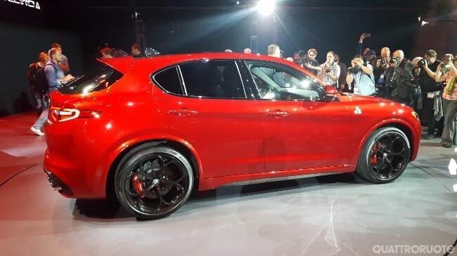 Top Video e foto: Tutto sulla nuova SUV SPORTIVA del Biscione UC76