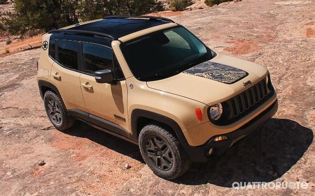 Jeep Renegade Due Versioni Per Il Salone Di Los Angeles