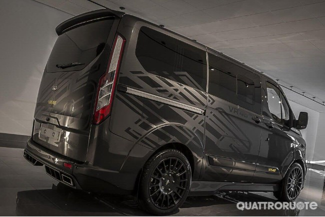 Due Ford In Serie Speciale Create Da Valentino Rossi Quattroruote It